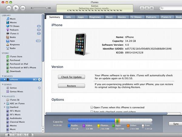 Приложения на iPhone Получить приложение UDID