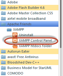 Загрузите и установите XAMPP & Netbeans